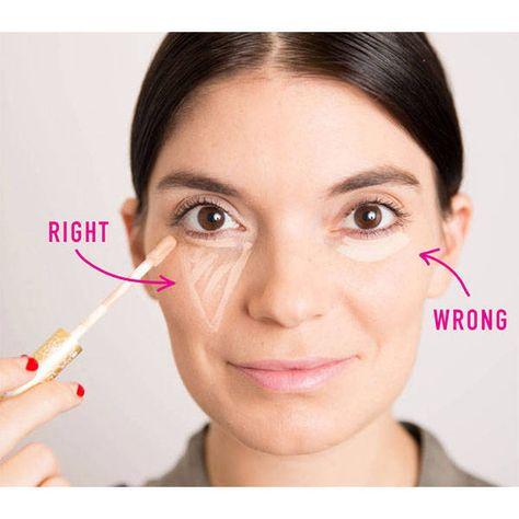 20 Concealer Hacks Every Woman Should Know - Concealer Makeup Hacks - Harper's BAZAAR Magazine