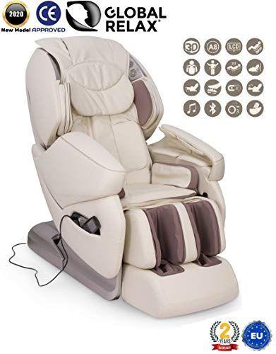 Nirvana Fauteuil De Massage 3d Blanc Mod 2020 Fauteuil Relax Shiatsu Avec 9 Programmes Massage Gravite Zero Zero W En 2020 Fauteuil De Massage Massage Shiatsu
