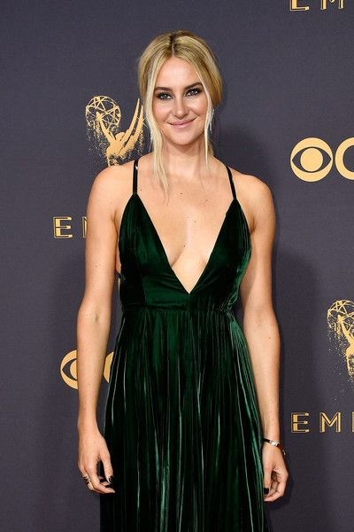 Actor Shailene Woodley attends the 69th Annual Primetime Emmy Awards at Microsoft Theater.