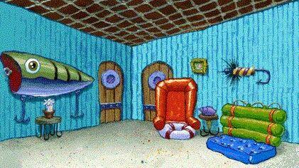Spongebob Living Room Background For Zoom Ilustrasi Kartu Ucapan Spongebob Ilustrasi