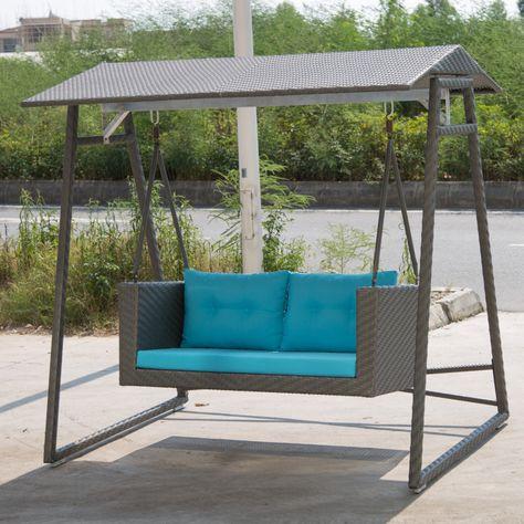 loveseat porch swing jardim porch swing outdoor bench swing e rh pinterest ie