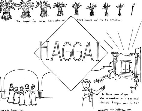 Haggai Bible Coloring Page Bible Coloring Pages