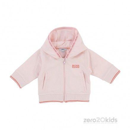Hugo Boss Pink Tracksuit Zero 20 Kids Designer Childrens