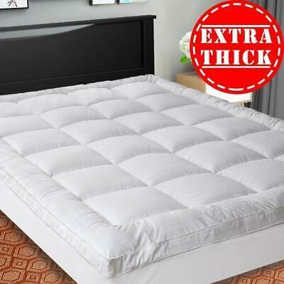 Sopat Extra Thick Mattress Topper Queen Cooling Mattress Pad Cover Pillow Top Cooling Mattress Pad Pillow Top