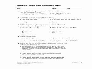 Arithmetic Recursive And Explicit Worksheet   worksheet