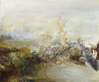 Zao Wou Ki Zao Wou Ki Zao Peinture Abstraite
