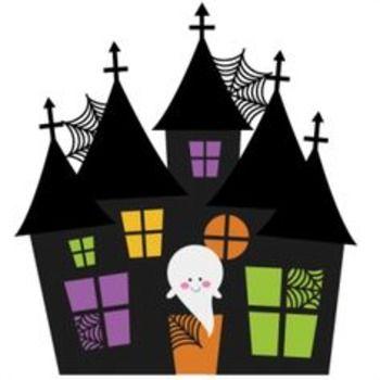 Haunted House Creative Writing Halloween Crafts Halloween Clipart Halloween Fun