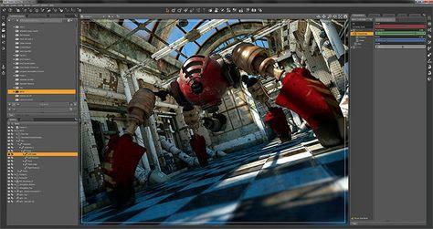 Daz studio 4.0 free 3d software
