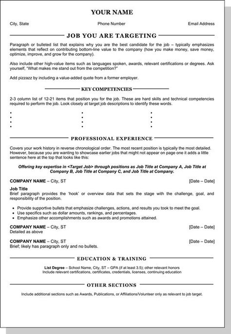 Resume Job Chronological Order Why You Should Not Go To Resume Job