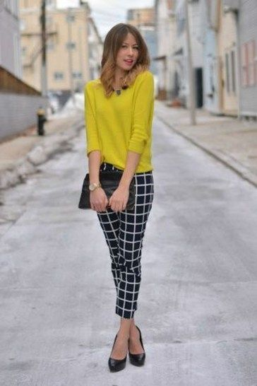 30+ Beautiful Office Outfits With Cropped Pants For Early Fall Ideas 94d3cac8c
