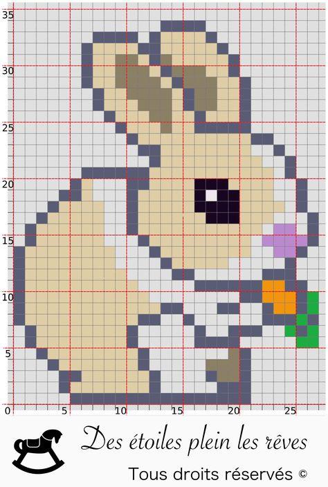 Diy Pixel Art Broderie Personnalisée Et Broderie Point De
