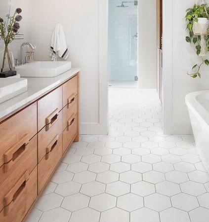 Honeycomb Hexagon Tile Collection Polar Matte Finish 7 X8 Hexagon Tiles White Bathroom Tiles Honeycomb Tiles Bathroom Hexagon Tile Bathroom Floor