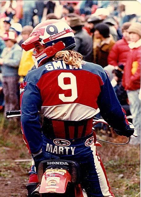Pin By Heinke Trapp On Marty Smith Honda In 2020 Vintage Motocross Motocross Riders Motocross