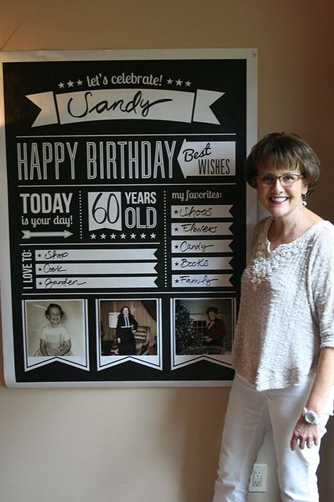 60th Birthday Party Inspiration