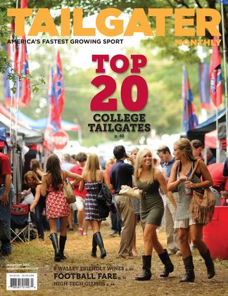 Tailgater Monthly's Top 20 College Tailgates