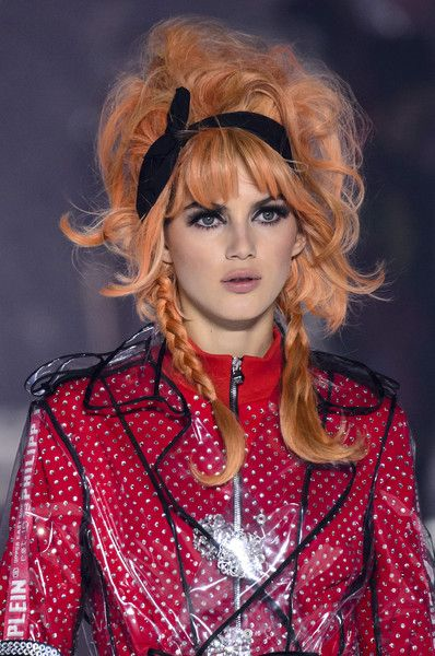 Philipp Plein, Fall 2018 - The Most Dazzling Hair and Beauty Details From NYFW Fall 2018 - Photos
