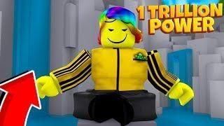 You Have To Have 1 TRILLION POWER To Train Here   (Roblox Super