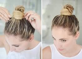 10 Cool And Easy Buns That Work For Short Hair Hair Hacks Short Hair Bun Short Hair Styles