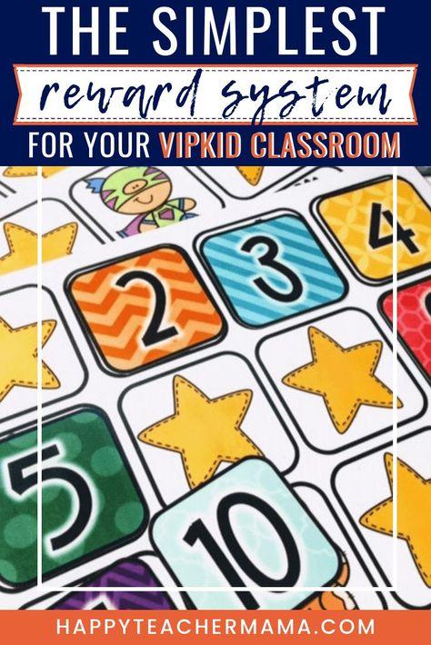 Find-A-Star Reward System in the VIPKID Classroom