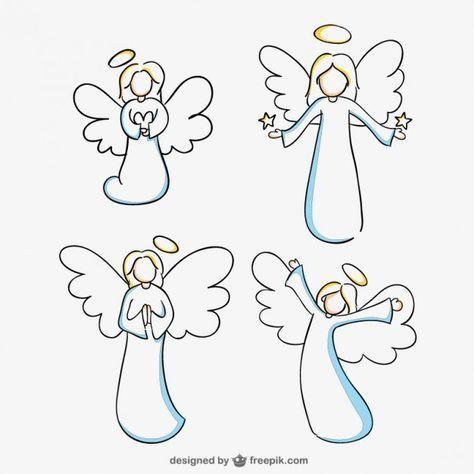 Bildergebnis Für Engel Clipart Schwarz Weiß Engel Zeichnen