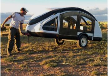 The Lightest Teardrop Trailer Also The Most Expensive Teardrop