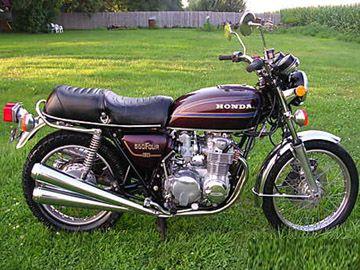 1978 Honda Cb550 K4 Honda Honda Bikes Honda Shadow