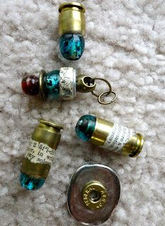 I have a whole bunch of brass bullet shells (all ready been shot, no danger involved) that I'm dying to use in my art jewelry. I am wonderi...