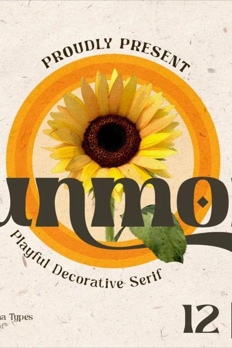 Sunmora - Playful Decorative Serif