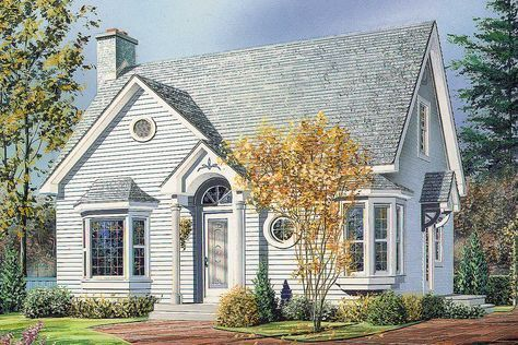 Plan 2103dr English Cottage Cottage Style House Plans Cottage Exterior Small Cottage Plans