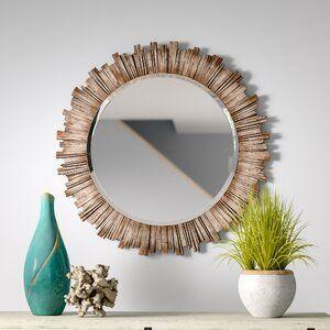 Birch Lane Northampton Wall Mirror Mirror Wall Accent Mirrors Circular Mirror