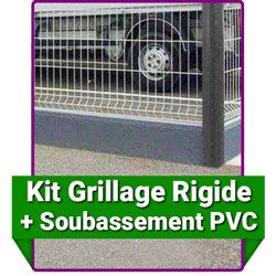 Kit Grillages Rigide Grillage Rigide Kit Grillage Rigide Plaque Pvc