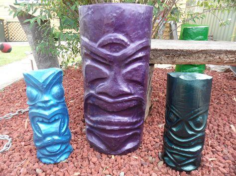 Kreepy Kulture Tiki Statue, Garden | Kreepy Kulture | Pinterest | Tiki  Statues, Garden Statues And Gardens