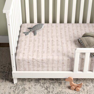 Birch Lane Heritage Emsley Fitted Crib Sheet Size 38 X 24