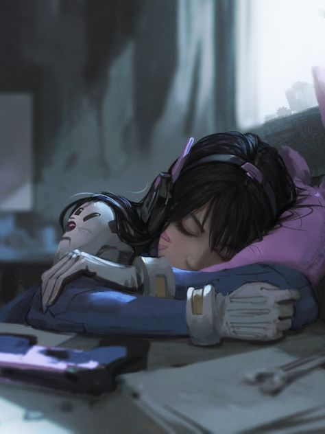 Art from the world of Overwatch.