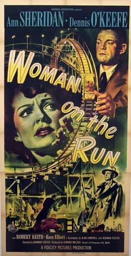 1950 Woman on the Run | Movie Posters From Movie Poster Shop | Noir