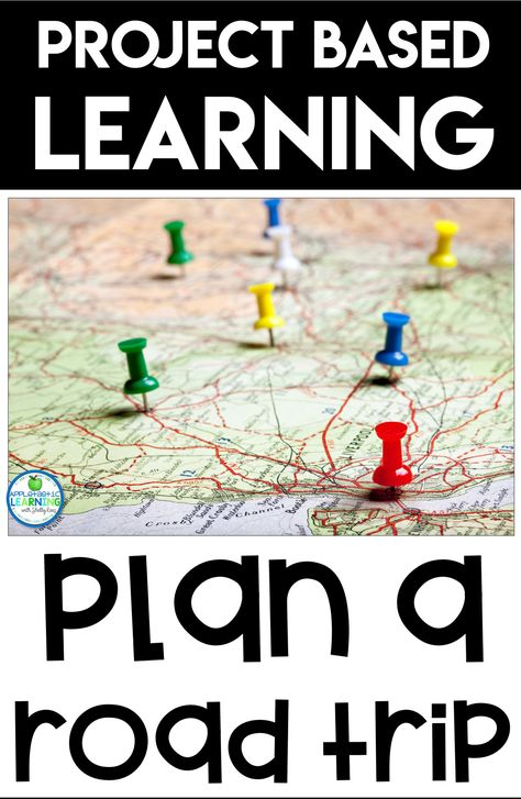 Plan a Road Trip Project Based Learning Activity - - Looking for project based learning ideas for middle school or elementary school students? They will love planning a road trip from start to finish! Problem Solving Activities, Problem Based Learning, Project Based Learning, Learning Activities, Educational Activities, Math Resources, Teaching Maps, Teaching Ideas, Middle School Activities