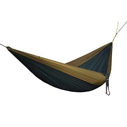 Ultra-Light Silk Touch Brazilian Design Made to Perfection. Durable Compact NTK Kokun 5 Stars Premium Camping Parachute Hammock Anti-Bacterial+Mosquito+UV