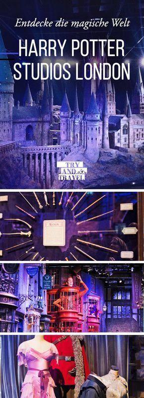 Entdecke Die Harry Potter Studios Travelbugs Harry Potter Begleitet Und Begeistert Mich Schon Mein Ganzes Leben Als Die Idee Des Jungen Za Filmes Lugares