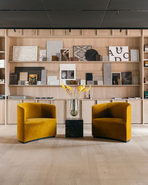 The Audo Concept Store & Boutique Hotel by Norm Architects – Design. Showroom Design, Store Concept, Hotel Concept, Lounge Chair Design, Lounge Chairs, Co Working, Global Design, Loft Style, Danish Design