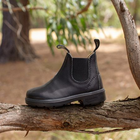 Blundstone KIDS 531 Leather Lined Leather CHELSEA Boots Black New