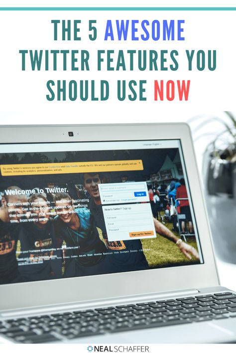 These 5 awesome Twitter features will set you up for success on Twitter for marketing & business. Ignore them at your risk! #twitter #twittermarketing #twittertips #socialmediamarketing #socialmediamarketingtips