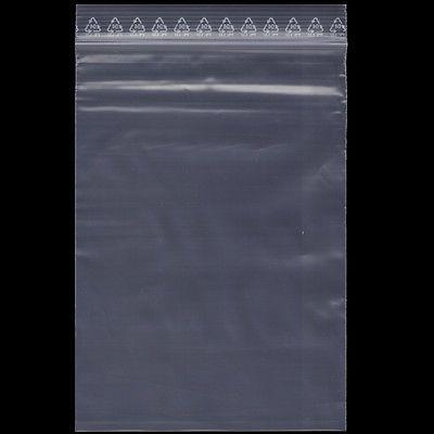 TD230= 100 Druckverschlussbeutel 30x40cm klar 50my transparent Zip Tüte Beutel