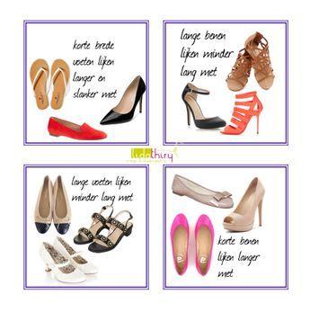 Schoenen kunnen je voeten kleiner of groter en je benen