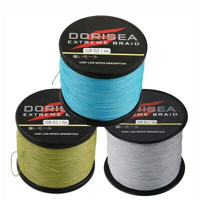 Details About 4 Strands Dorisea 100m 1000m Super Strong Dyneema