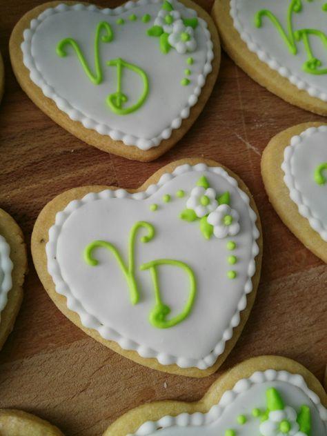 Segnaposto Matrimonio Biscotti.Biscotto Segnaposto Per Una Promessa Di Matrimonio Torte Di
