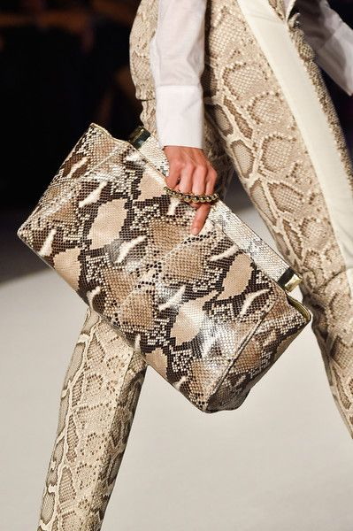Aigner at Milan Fashion Week Spring 2015 - Details Runway Photos