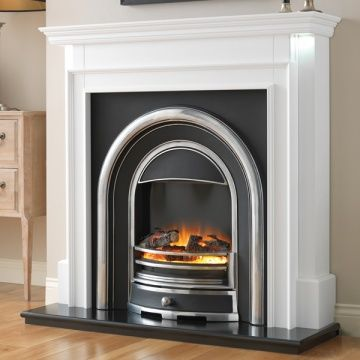 Flamerite Aubade With Tennyson Cast Electric Fireplace Suite In 2020 With Images Electric Fireplace Suites Fireplace Suites Fireplace