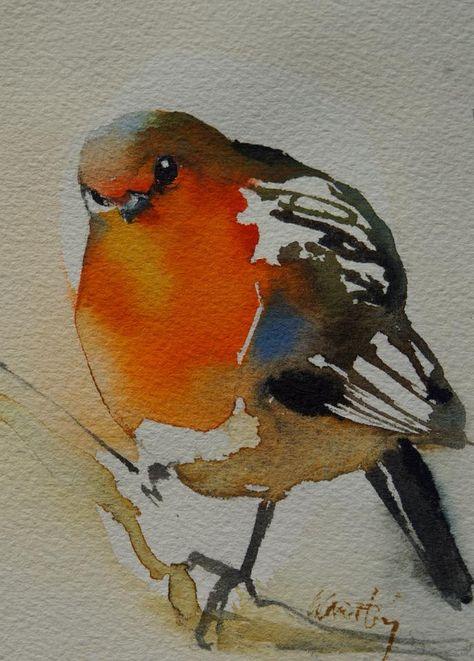 Piaf Rouge Gorge Mes Petits Oiseaux Sont En Vente Dans Ma