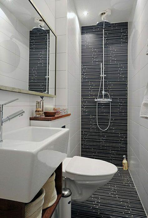 Pin Auf Schmales Badezimmer