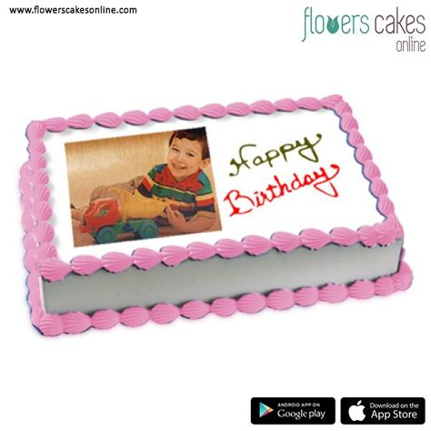 Terrific Buy Photo Cakes Online Online Photo Cakes Delivery In India Birthday Cards Printable Opercafe Filternl
